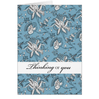 2764 Paisley Thinking of you Card