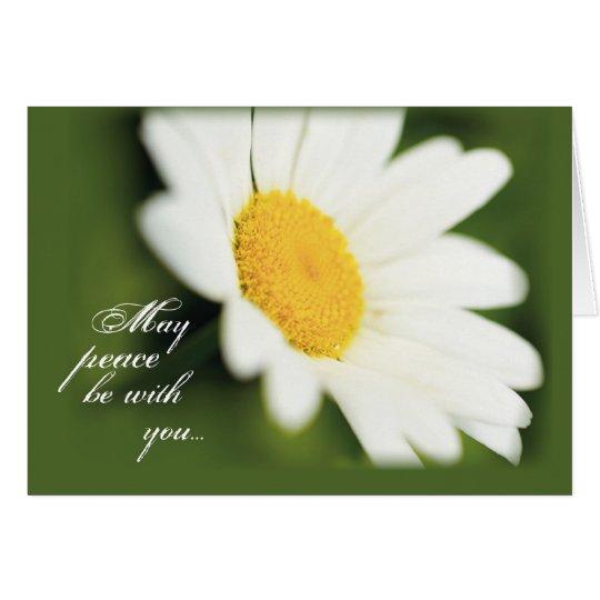 2771 Peace Daisy Card