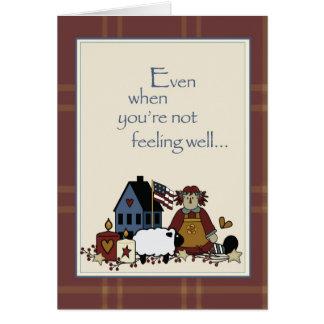 2778 ovejas de la casa de muñecas no manan tarjeta de felicitación