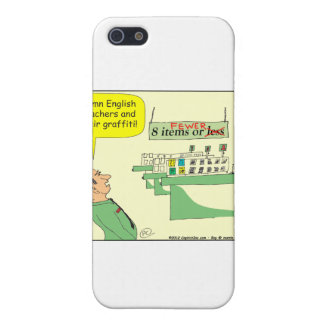 278 English Teacher Cartoon in color Case For iPhone 5