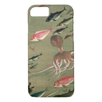 27. 諸魚図, 若冲 Various Fishes, Jakuchū, Japan Art iPhone 7 Case