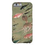 27. 諸魚図, diversos pescados del 若冲, Jakuchū, arte Funda Para iPhone 6 Barely There