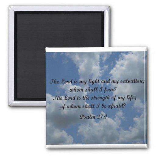 27:1 del salmo imán para frigorifico