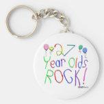 ¡27 años de la roca! llaveros
