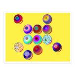 № 27 de las bolas y de las burbujas tarjetas postales