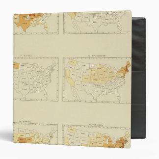 27 Interstate migration 1890 MONJ Vinyl Binder
