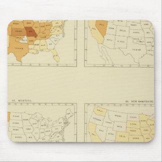 27 Interstate migration 1890 MONJ Mouse Pad