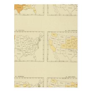 27 Interstate migration 1890 MONJ Postcard
