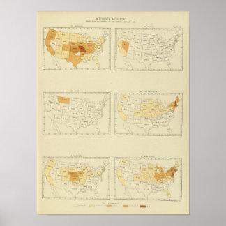 27 Interstate migration 1890 MONJ Poster