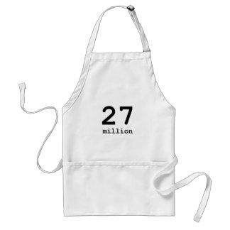 27 million adult apron