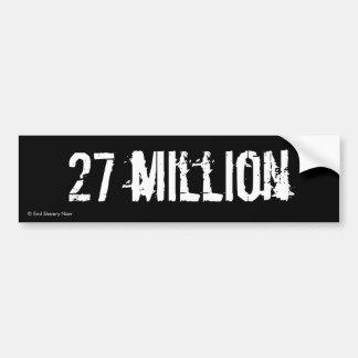 27 millones pegatina para auto
