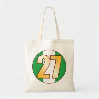 27 NIGERIA Gold Tote Bag