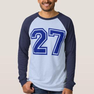 27 - number shirt