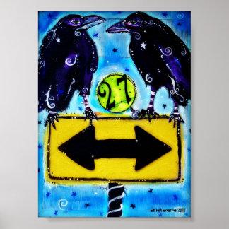 """""""27"""" original art print"""