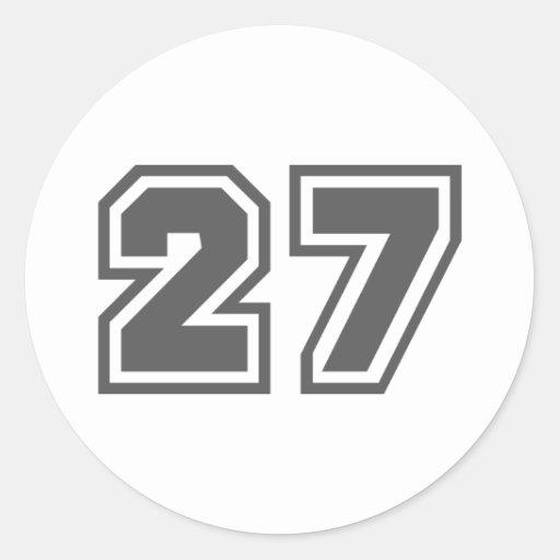 27 PEGATINAS REDONDAS