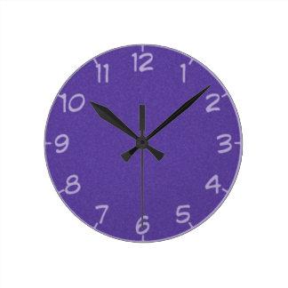 27 Shades of Purple Clock