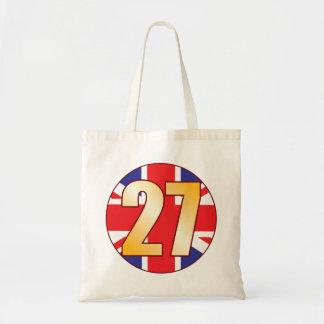 27 UK Gold Tote Bag