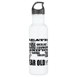 27th Birthday Party Greatest Twenty Seven Year Old 24oz Water Bottle