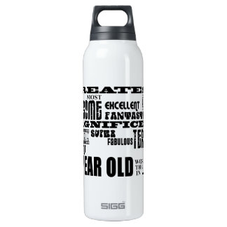 27th Birthday Party Greatest Twenty Seven Year Old 16 Oz Insulated SIGG Thermos Water Bottle
