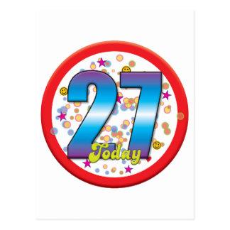 27th Birthday Today v2 Post Cards
