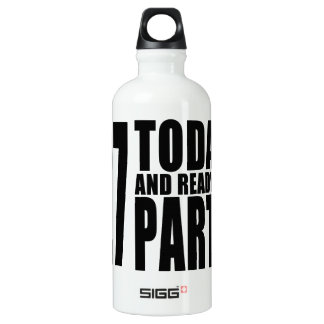 27th Birthdays Parties : 27 Today & Ready to Party SIGG Traveler 0.6L Water Bottle