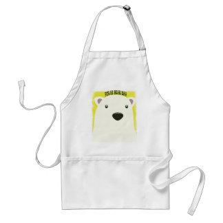 27th February - Polar Bear Day Adult Apron