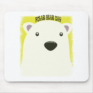 27th February - Polar Bear Day Mouse Pad