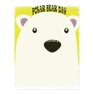 27th February - Polar Bear Day Postcard