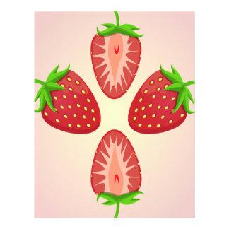 27th February - Strawberry Day Letterhead