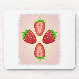 27th February - Strawberry Day Mouse Pad