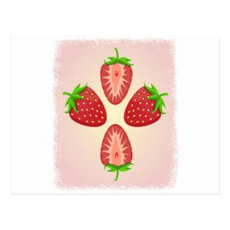 27th February - Strawberry Day Postcard