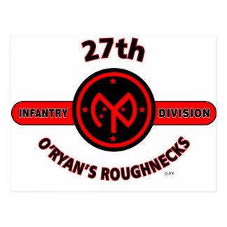 27TH INFANTRY DIVISION O RYAN S ROUGHNECKS POST CARD