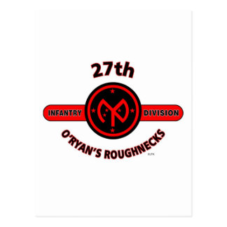 27TH INFANTRY DIVISION O RYAN S ROUGHNECKS POSTCARDS