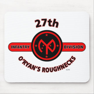 "27TH INFANTRY DIVISION ""O'RYAN'S ROUGHNECKS"" MOUSE PAD"