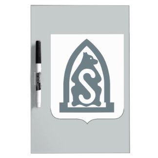 27th Infantry Regiment - Coat of Arms Dry Erase Board