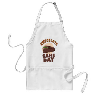 27th January - Chocolate Cake Day Adult Apron