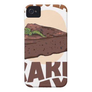 27th January - Chocolate Cake Day iPhone 4 Case