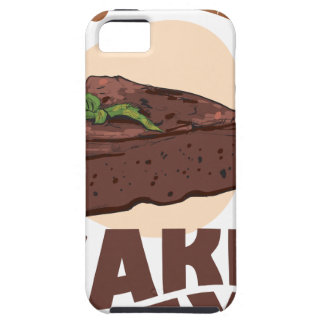 27th January - Chocolate Cake Day iPhone SE/5/5s Case