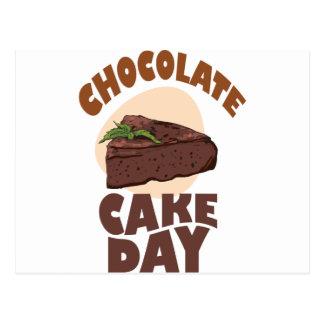 27th January - Chocolate Cake Day Postcard