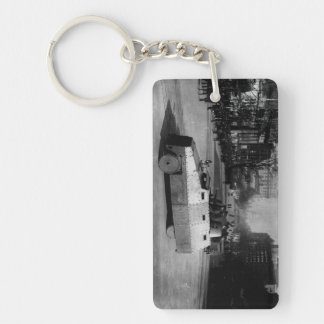 27th March 1917:  The armoured vehicle squadron Double-Sided Rectangular Acrylic Keychain