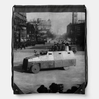 27th March 1917:  The armoured vehicle squadron Drawstring Bag