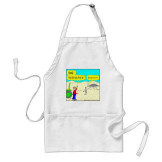 280 Google Earth Cartoon in color Adult Apron