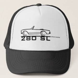 280SL BLK TRUCKER HAT