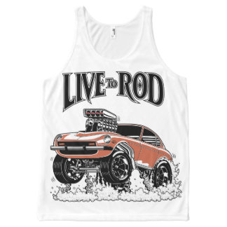 280Z Gasser All-Over Tank-1 All-Over-Print Tank Top