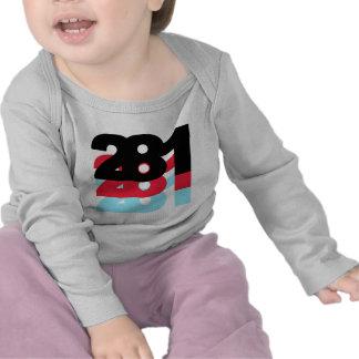 281 Area Code T-shirt