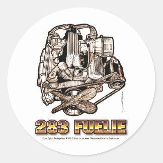 283 Fuelie Corvette Engine Stickers