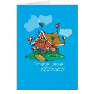2857 Congratulations Balloon House Card