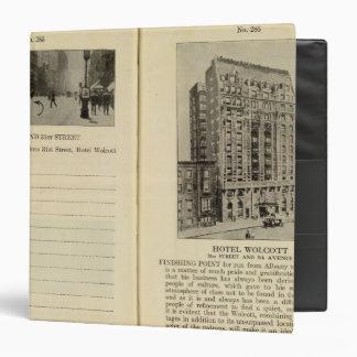 28586 Broadway & 31st St Hotel Wolcott Binder