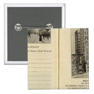 28586 Broadway & 31st St Hotel Wolcott Button