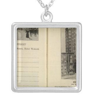 28586 Broadway & 31st St Hotel Wolcott Necklace